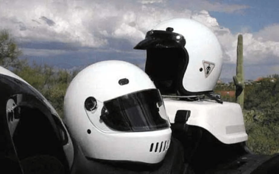 Are White Motorcycle Helmets Safer